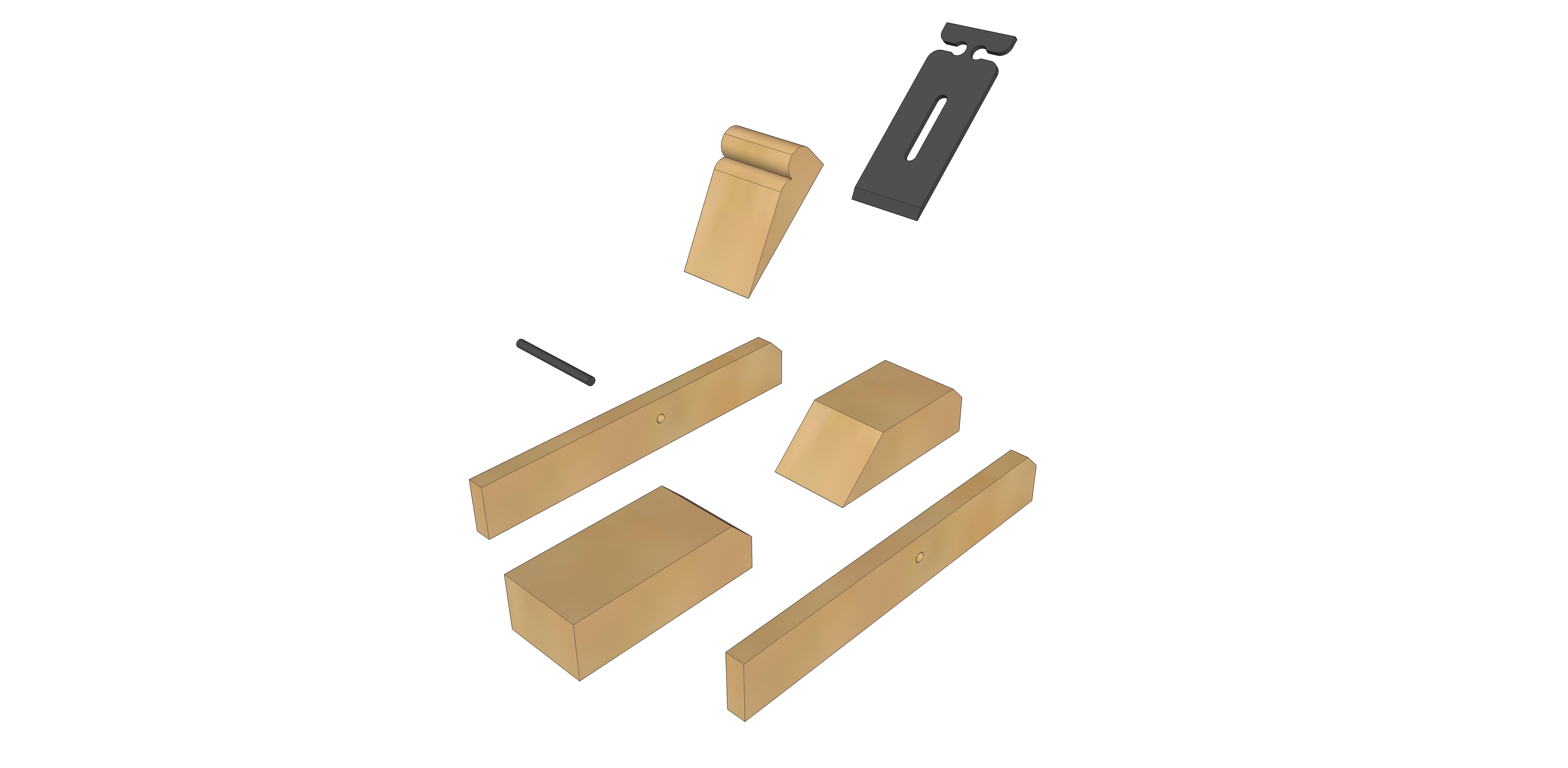 Ogni mese un pezzo per costruire DIY 4 strumenti indispensabili in falegnameria: La pialla giapponese, il truschino, la squadra e la falsa squadra