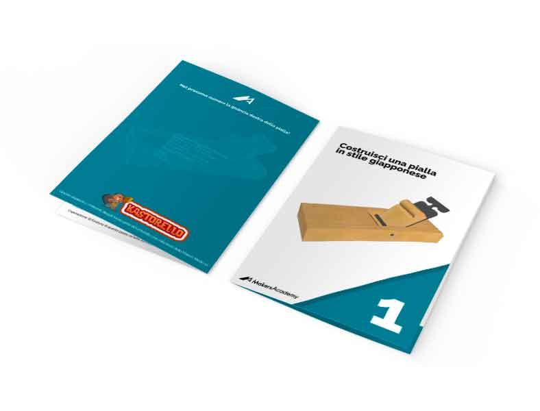 Le schede dei progetti DIY con le istruzioni per assemblarli